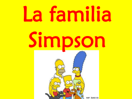Homer y Marge son