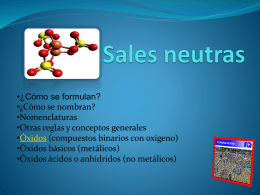 Sales neutras