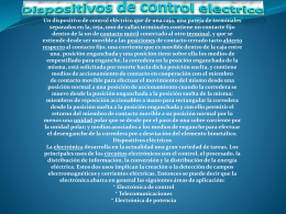Dispositivos de control electrico Un dispositivo