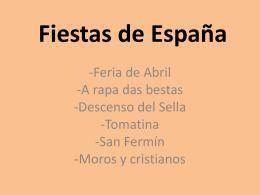 Fiestas de España