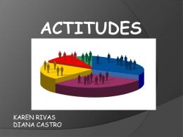 actitudes - COMPORTAMIENTODELCONSUMIDOR