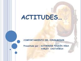 ACTITUDES… - psicologiaconsumidor