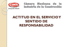 actitud en el servicio y sentido de responsabilidad