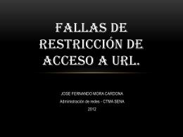 Fallas de Restricción de Acceso a URL