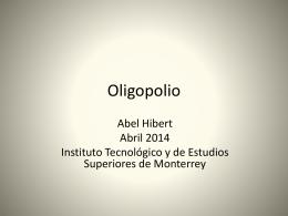 Oligopolio(1)