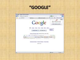 presentacion de google