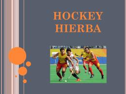 HOCKEY HIERBA