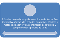 2.2 aplica los cuidados paliativos a los pacientes en fase terminal