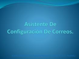 Asistente De Configuración De Correo.