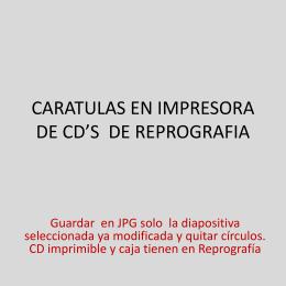 PLANTILLA OFICIAL CD/DVD PFC - Escuela Técnica Superior de