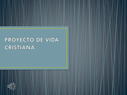 PROYECTO DE VIDA CRISTIANA (2235407)