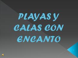 PLAYAS Y CALAS CON ENCANTO
