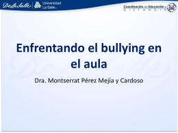 Bullying - Educación a Distancia