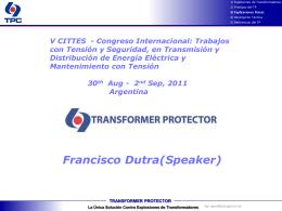 Presentación del TRANSFORMER PROTECTOR