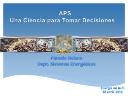 Aps - Una ciencia para tomar decisiones - Sitio Odin.fi