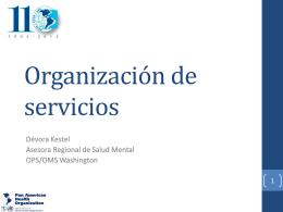 Organición de servicios