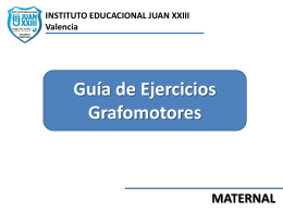 Diapositiva 1 - Instituto Educacional Juan XXIII