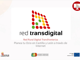 Planea tu Ocio - Red Rural Digital Transfronteriza