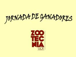 JORNADA DE GANADORES - Universidad de Costa Rica