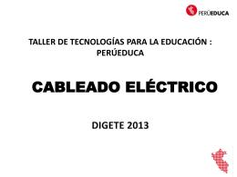 CABLEADO ELECTRICO 2013