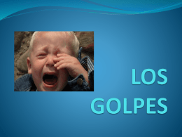 LOS GOLPES - WordPress.com