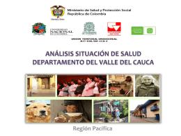 análisis situación de salud departamento del valle