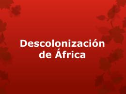 Descolonización de África (369562)