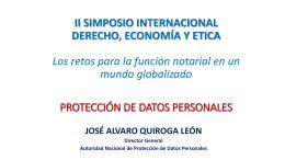 LA PROTECCIÓN DE DATOS PERSONALES EN EL PERÚ II