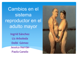 Cambios reproductivos en el adulto mayor