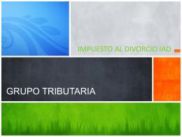 Impuesto al Divorcio