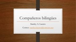 Compañeros bilingües