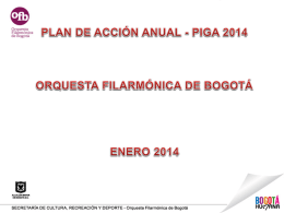 Plan de acción PIGA 2014 - Intranet #OFB