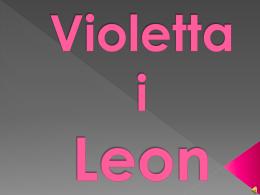 Violetta i Leon