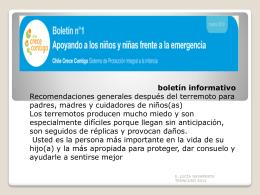 boletin_informativo_emergencia_sismica