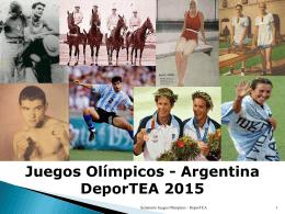 JJ.OO. Argentina 2015