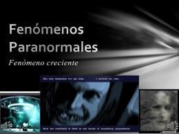 Fenomenos Paranormales - Holismo Planetario en la Web