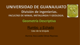 Brújula Brunton - Universidad de Guanajuato