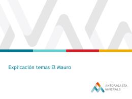 Explicación temas El Mauro