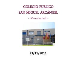 Presentación Patios - AMPA Colegio San Miguel