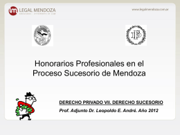 Para regular los honorarios profesionales…
