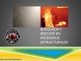 Busqueda y Rescate en incendios estructura