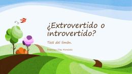 Extrovertido o introvertido2