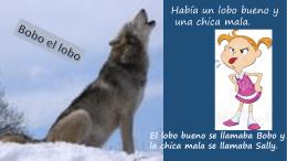 bobo el lobo story