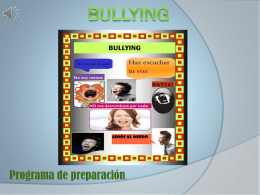BULLYING procedimiento creativo. (2)