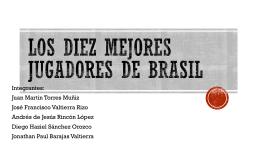 Los diez mejores jugadores de Brasil