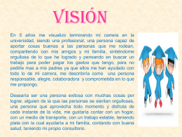 vision - WordPress.com