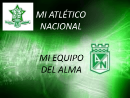 File - CLUB ATLETICO NACIONAL