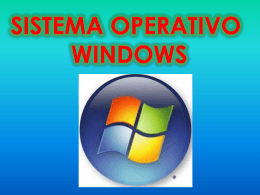 Sistema operativo de windows