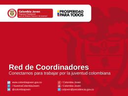 Colombia Joven: Red de Coordinadores de Juventud