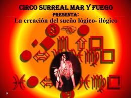 CIRCO MAR Y FUEGO PRESENTA: